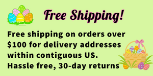 Free shipping on orders $100 or more easter sale 2020