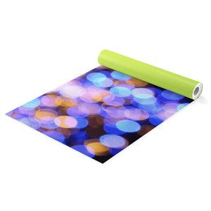 Blurry Lights Yoga Mat - Blue Buddha Store