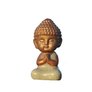 Mini Praying Buddha Statue