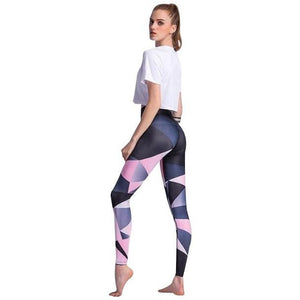 Geometric Yoga Leggings - Blue Buddha Store