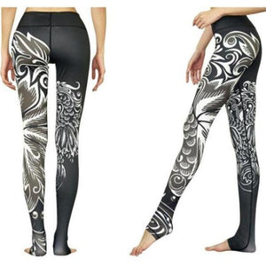 Black Phoenix Yoga Leggings - Blue Buddha Store