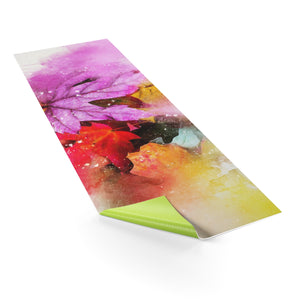 Leaves of Change Yoga Mat - Blue Buddha Store