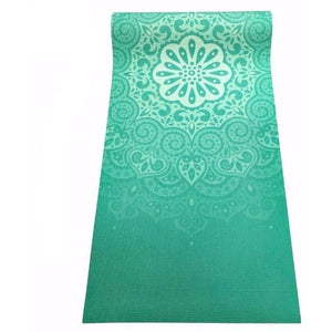 Namaste Yoga Mat (Light Green) - Blue Buddha Store