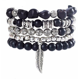 Jupiter Stone Bracelet Set (3 Colors) - Blue Buddha Store