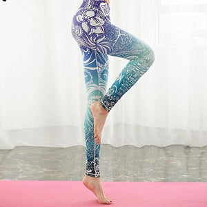 Springtime Yoga Leggings