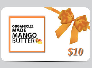 OrganicLEE Made Mango Butter Gift Cards