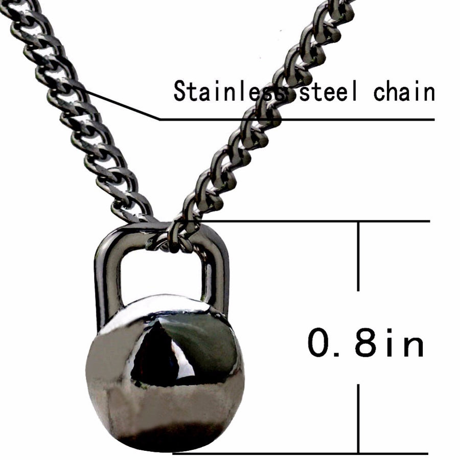 Kettlebell Necklace  GWF