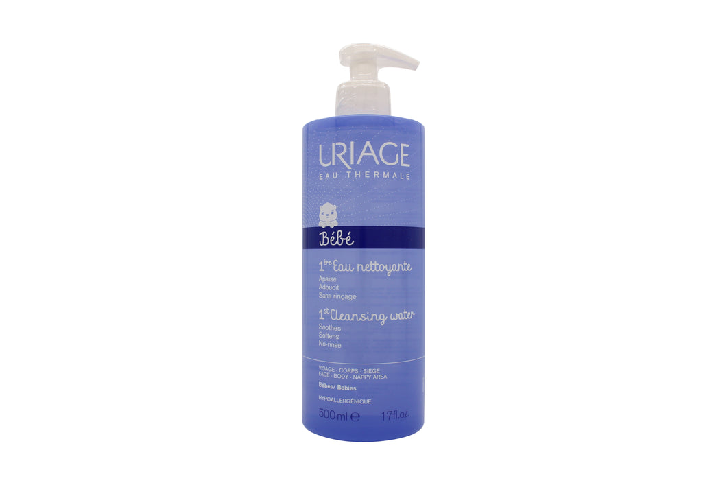 Uriage Baby 1st Water No-Rinse Cleansing Water 500ml