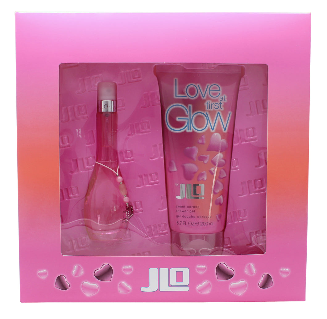 Jennifer Lopez Love At First Glow Gift Set 30ml EDT + 200ml Bath & Shower Gel