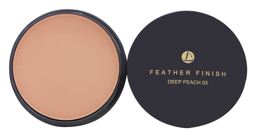 Lentheric Feather Finish Compact Powder Refill 20g - Deep Peach 03