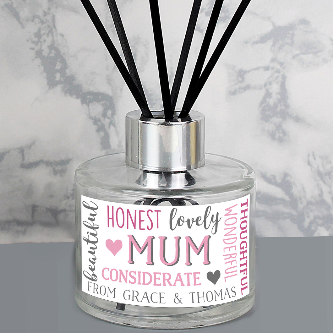 Personalised Mum Reed Diffuser