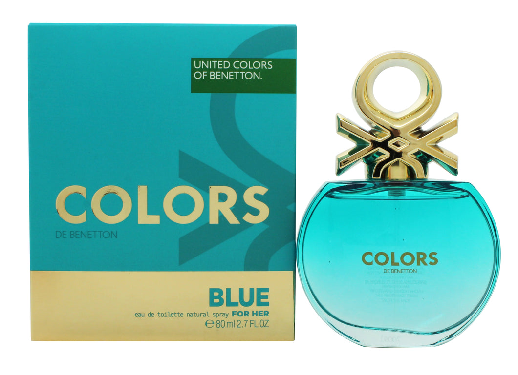 Benetton Colors de Benetton Blue Eau de Toilette 80ml Spray