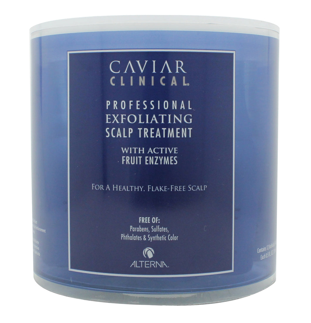 Alterna Caviar Clinical Professional Exfoliating Scalp Treatment 12 x 15ml