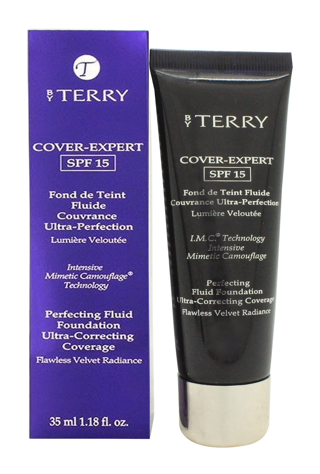 By Terry Cover Expert Perfecting Fluid Foundation SPF15 35ml - N2 Neutral Beige
