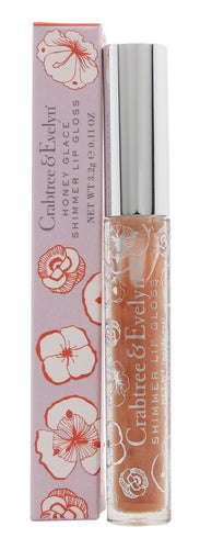 Crabtree & Evelyn Shimmer Lip Gloss 3.2g Honey Glace