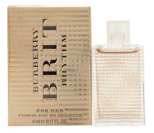 Burberry Brit Rhythm for Her Floral Eau de Toilette 5ml Splash