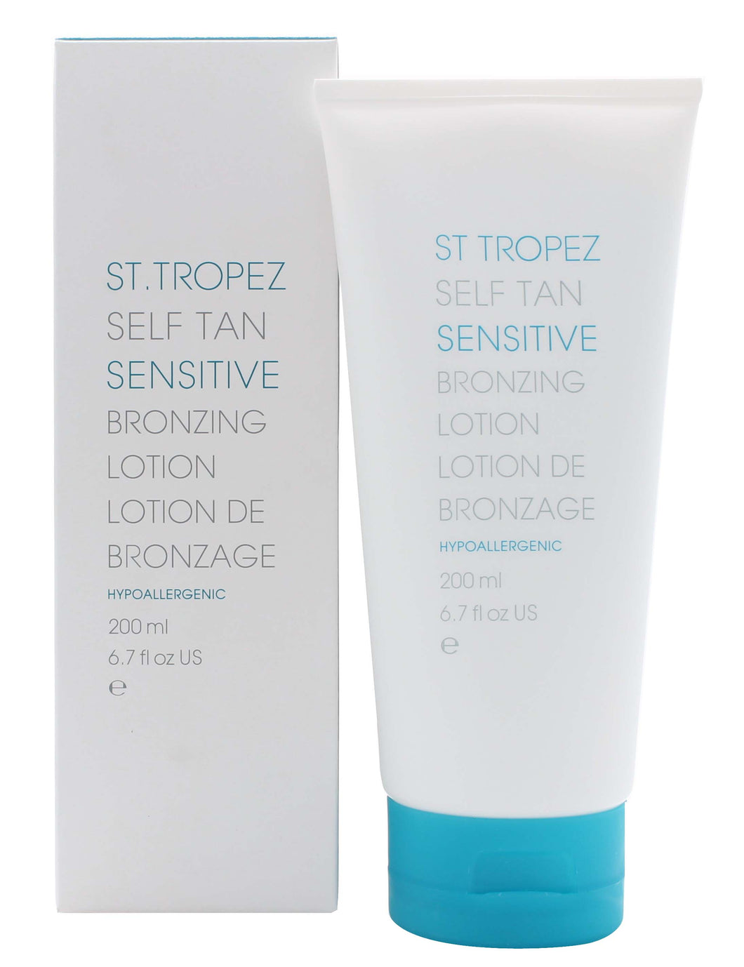 St Tropez Sensitive Self Tan Bronzing Lotion Body 200ml