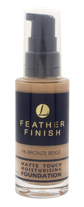 Lentheric Feather Finish Matte Touch Moisturising Foundation 30ml - Bronze Beige 06