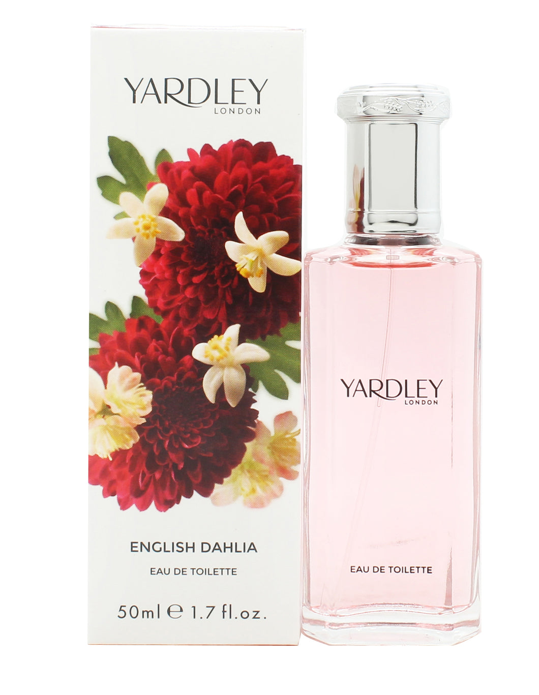 Yardley English Dahlia Eau de Toilette 50ml Spray