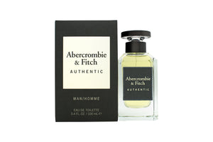 Abercrombie & Fitch Authentic Man Eau de Toilette 100ml Spray