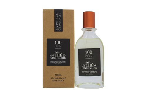 100BON Eau de Thé et Gingembre Refillable Eau de Parfum Concentrate 50ml Spray