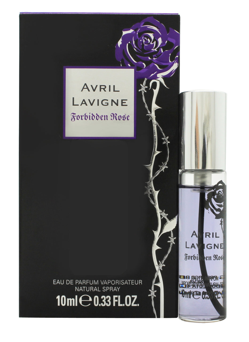 Avril Lavigne Forbidden Rose Eau de Parfum 10ml Spray