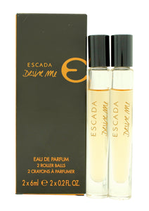 Escada Desire Me Miniature Gift Set 2 x 6ml EDP Roll On