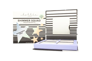 Lottie London Shimmer Squad Holographic Haul Highlighter Palette 16.8g