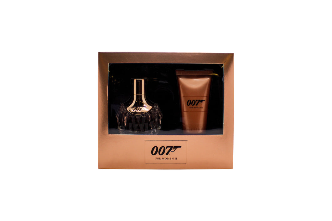 James Bond 007 for Women II Gift Set 30ml EDP + 50ml Body Lotion