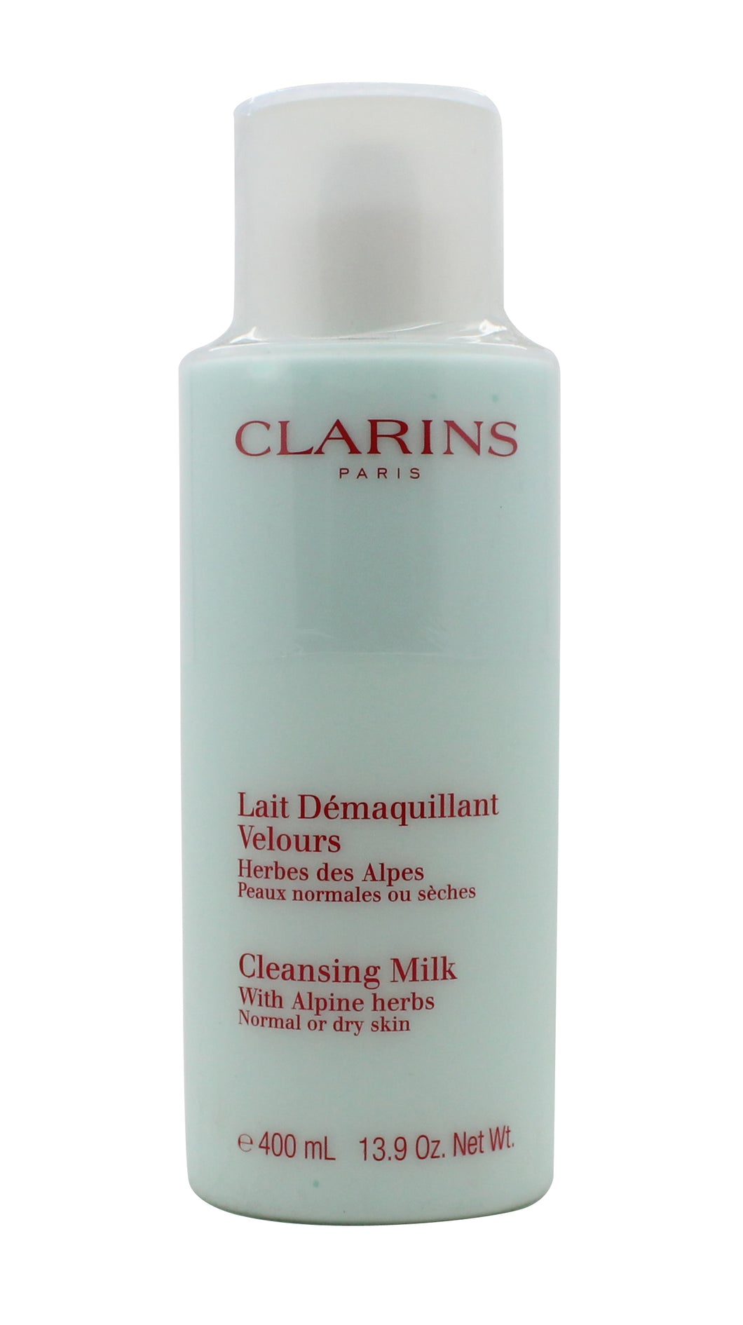 Clarins Cleansers and Toners Cleansing Milk with Alpine Herbs - Dry/Normal Skin 400ml