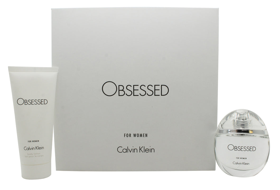 Calvin Klein Obsessed for Women Gift Set 50ml EDP + 100ml Body Lotion