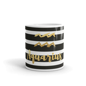 Aquarius Striped Mug