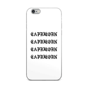 Capricorn Gothic iPhone Case