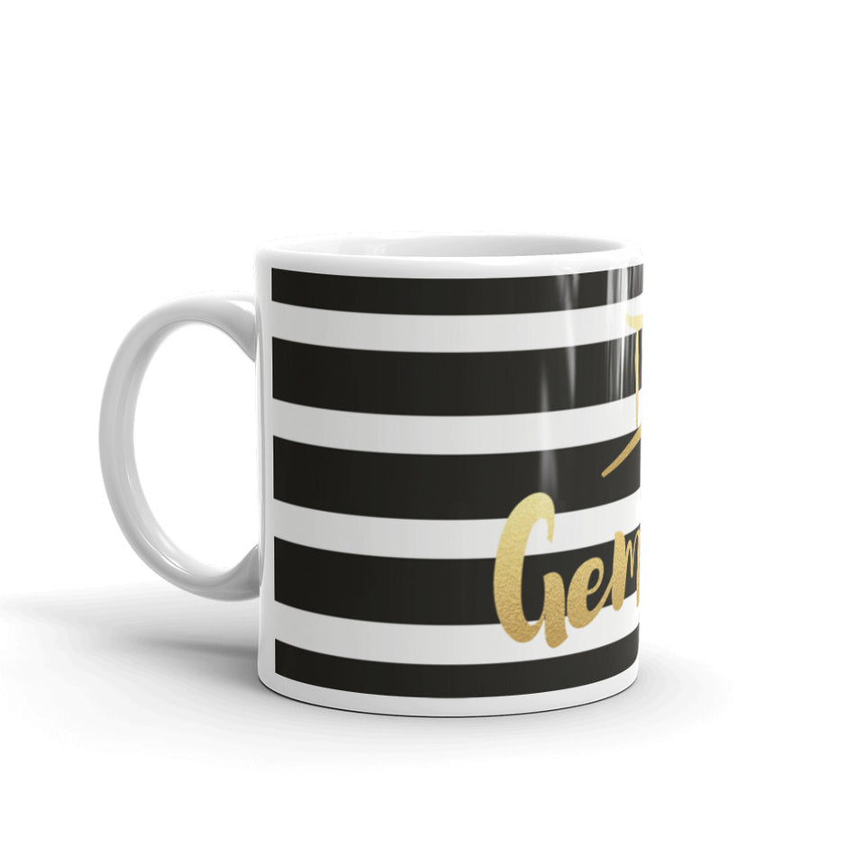 Striped Gemini Mug