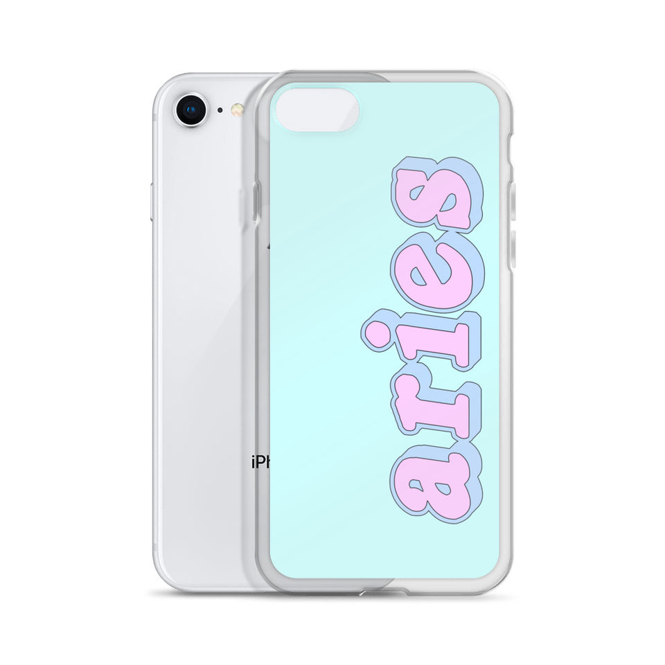 Cotton Candy Aries iPhone Case