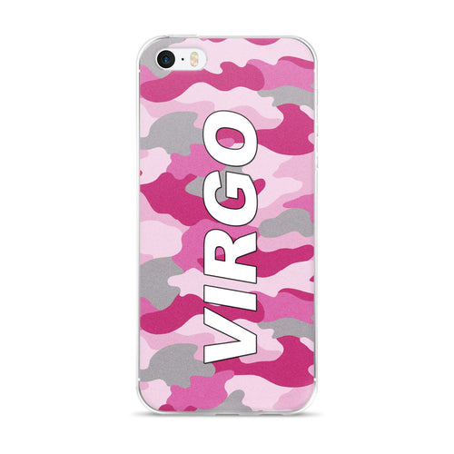 Virgo Pink iPhone Case