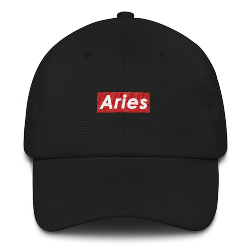 Aries Supreme Style Dad hat