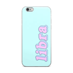 Cotton Candy Libra iPhone Case