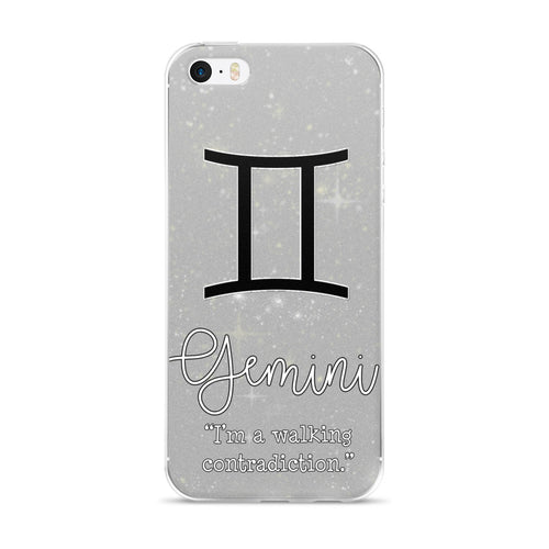 Gemini Quote iPhone Case