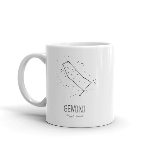 Gemini Constellation Mug
