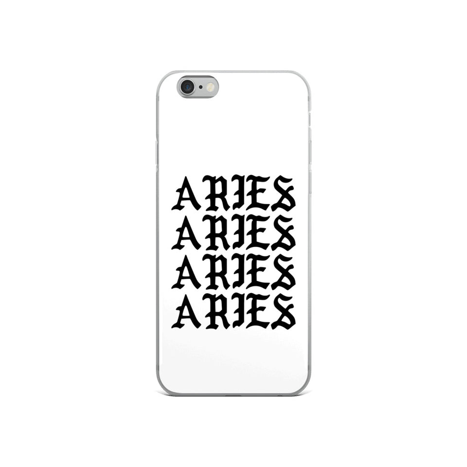 Aries Gothic iPhone Case