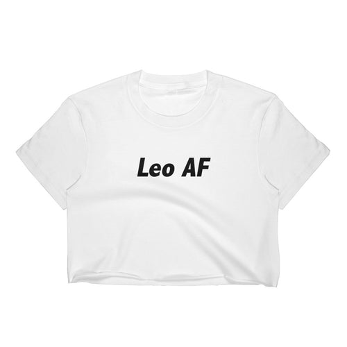 Leo AF Women's Crop Top