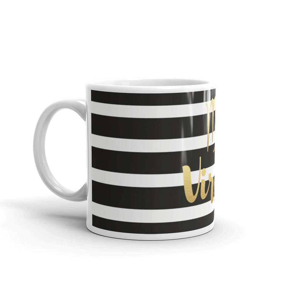 Striped Virgo Mug