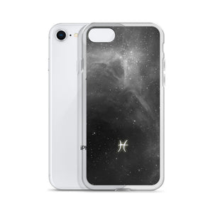 Pisces Grey Galaxy iPhone Case
