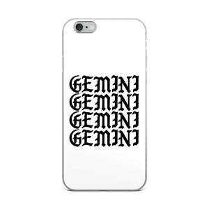 Gemini Gothic iPhone Case
