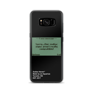 Not Compatible Samsung Case