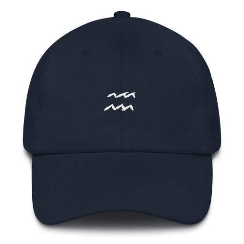 Aquarius Wavy Dad Hat