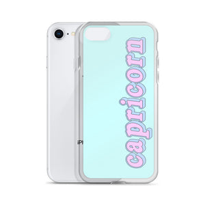 Cotton Candy Capricorn iPhone Case