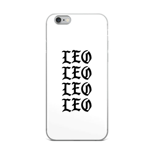 Leo Gothic iPhone Case