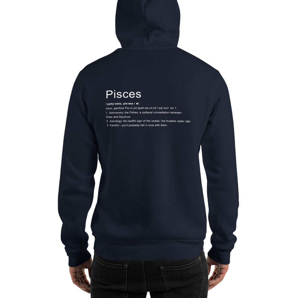 Define Your Sign Unisex Hoodie (Pisces)